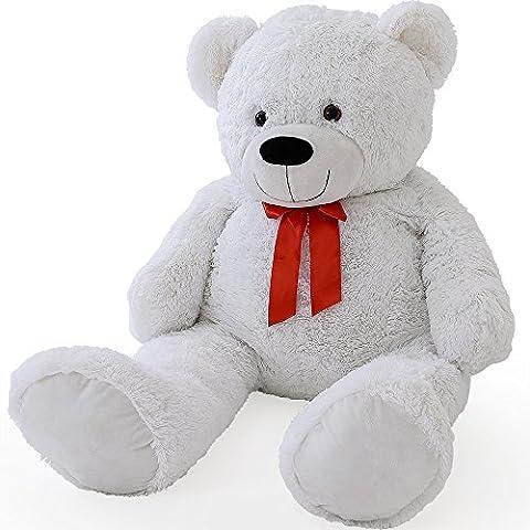 XL Teddy Bear Kids Giant Soft Plush Toys Dolls White