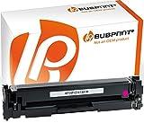 Bubprint Toner kompatibel für HP CF413A 410A für Color LaserJet Pro M452 M452DN M452DW M452NW MFP M377DW M477FDN M477FDW M477FNW M477 Series Magenta