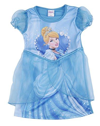 Imagen de disney cenicienta niñas tutú vestido de fiesta disfraz con licencia oficial nuevo azul azul 5 6 años alternativa