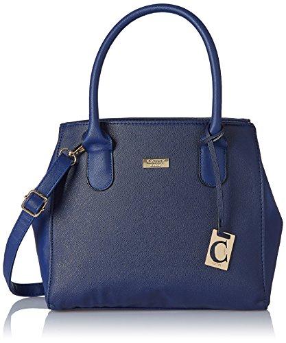 Cathy London Women's Handbag (Blue, Cathy-202)