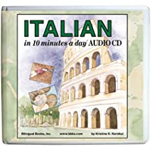"""""""10 Minutes a Day"""" Audio CD Wallet: Italian"""