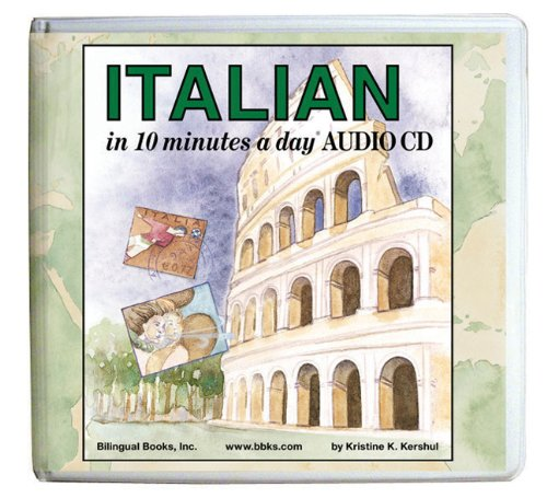 10 minutes a day® AUDIO CD Wallet (Library Edition): Italian (10 Minutes a Day Series)
