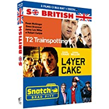 Coffret so british 3 films : trainspotting 2 ; layer cake ; snatch