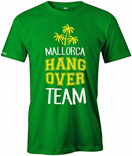Mallorca Hangover Team Deluxe - Urlaub - Herren T-SHIRT Grün