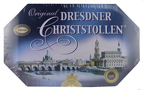 Original Dresdner Christstollen – 1000g Schmuckdose – Vadossi