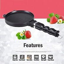 TAMUME Máquina de Crêpes Sartén Crepes Helado Waffle Cone Maker Máquina de Barquillos Y Cucuruchos de