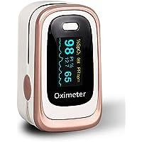Pulsossimetro, monitor di saturazione di ossigeno Pulsossimetro Spo2 pulsossimetro per adulti e bambini con schermo OLED…
