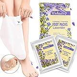 Fuß Maske wokaar Fuß Peeling Maske Peeling Socken Schwielen und abgestorbene Haut Entferner Baby Füße 2 Paar