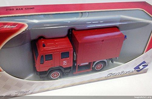 Générique Camion Pompier Man GRIMP - SOLIDO 1/60