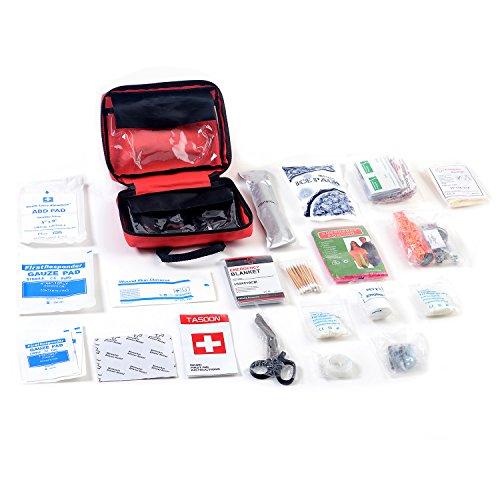 Trousse de premiers soins 151 pièce, fournitures pour voiture, maison, voyage, bureau ou sports, YUUVE