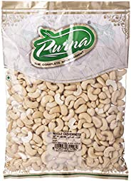 Purna Cashew Nut Whole - 800 gm(Pack of 12)