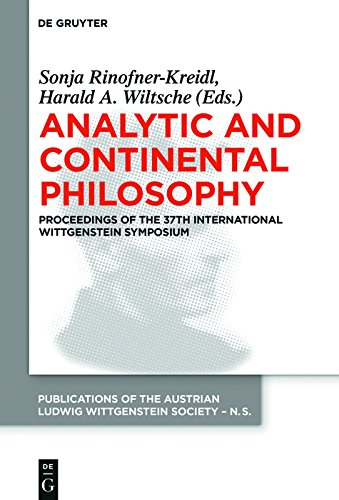 Analytic and Continental Philosophy: Methods and Perspectives. Proceedings of the 37th International Wittgenstein Symposium (Publications of the Austrian ... - New Series Book 23) (English Edition)