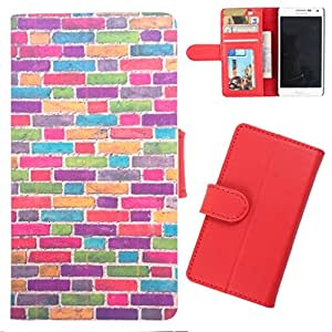 DooDa - For LG G Pro Lite (D686) PU Leather Designer Fashionable Fancy Wallet Flip Case Cover Pouch With Card, ID & Cash Slots And Smooth Inner Velvet With Strong Magnetic Lock