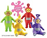 Enlarge toy image: Teletubbies Family Figure (Pack of 4, Multi-Colour) - toddler baby activity product