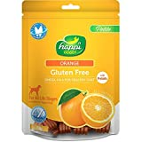 #6: Heads Up For Tails Gluten Free Dog Treats Orange Complete Dental Care With Omega 3 & 6 For Healthy Coat - 150 Gms