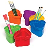 Connector Interlocking Pots for Painting and Children