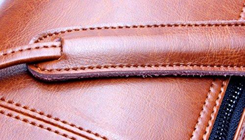 Tracolla In Pelle Minimalista Ms. Dimensioni 26 * 7 * 16cm Redwine