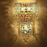 XX Luxus K9 Kristall Wandleuchte LED Gold Wohnzimmer Schlafzimmer Nacht Esszimmer Wandleuchte Europäischen Beleuchtung