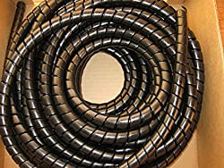 Hydraulic Hose Spiral Wrap Guard Potection 18-24mm JCB Forestry Tractor digger, 10 meter