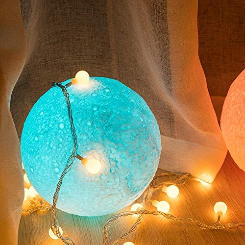 Regalos Para Tu Novia Originales Luna Lampara Moon Lamp 3D Lámpara Lunar...
