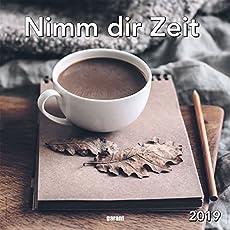 Monatskalender Nimm dir Zeit 2019