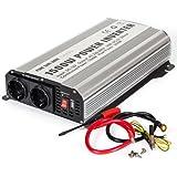 TecTake Convertisseur de Tension pur sinus Power Inverter 12V en 220V 1500W 3000W