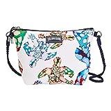 Vilebrequin - Watercolour Turtles Strandtasche mit Schulterriemen - WEIß - OSFA