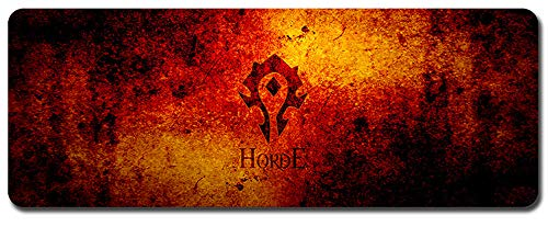 Mauspad,World of Warcraft Wow Mauspad,Professionelle Gaming Mouse pad, Computer - Tisch - Pad, Schreibtisch - Pad, Die Dicken Gummi - Anti - rutsch (900 x 400 x 3 mm / 35.5 x 15.5 x 0.12 inch, 1) -