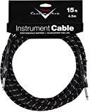 Fender 099-0820-051 Custom Shop  4,5m Angle Inst. Cable Black Tweed