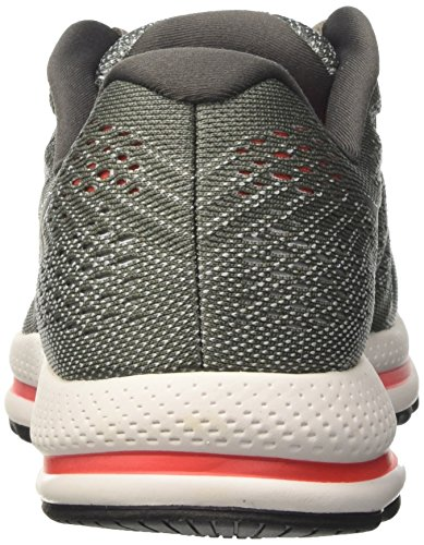 Nike Air Zoom Vomero 12, Chaussures de Course Homme Gris (Tumbled Grey/black/pure Platinum/midnight Fog/max Orange)