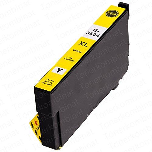 1 EasyInk Druckerpatronen kompatibel zu EPSON 35XL T3594 Yellow für Epson Workforce Pro Serie WF 4720 DWF WF 4730 DTWF WF 4735 DTWF WF 4740 DTWF - 1 Ea-toner-patrone