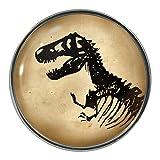 1StopShop Dinosaurier-Skelett Design Anstecker, Anstecknadel