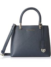 Lino Perros Women's Handbag (Blue) (LWHB01972BLUE)