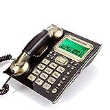 JIE KE-24 Antikes Telefon Kreativität Continental Vintage Office Haushalt Hotel Wand-Festnetz-Telefon mit Kabel (Farbe : A)