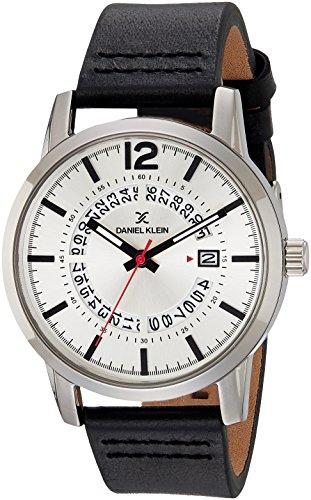Daniel Klein Analog Silver Dial Men's Watch-DK11509-6