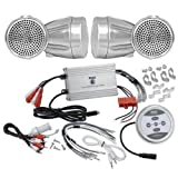 Best Pyle Car Adapters - Pyle KTHSP430 1200 Watts Motorcycle/ATV/Snowmobile Sound System Review