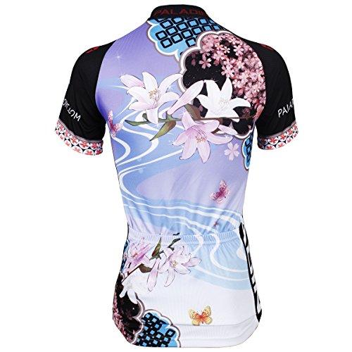 les femmes vélo VTT à séchage rapide jersey à manches courtes Lily-Jersey Only