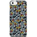 Coque pour Apple iPhone 5/5s/SE, cotés silicone Transparent Mickey Shorts par Disney