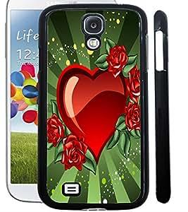 ColourCraft Love Heart Design Back Case Cover for SAMSUNG GALAXY S4 I9500 / I9505