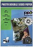 PPD A4 Carta Per Brochure Per Stampanti A Getto D'Inchiostro, Fronte-Retro, 130 gsm, 100 fogli - PPD-40-100