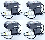 Dambat Whirlpoolheizung/Schwimmbadheizung/Wärmetauscher von 1000Watt bis 3000Watt mit Thermostat und Durchflusssensor. (1,0kW)