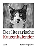 Der literarische Katzenkalender 2018: Zweifarbiger Wochenkalender - Julia Bachstein
