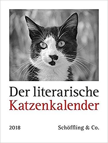 Der literarische Katzenkalender 2018: Zweifarbiger Wochenkalender por Julia Bachstein