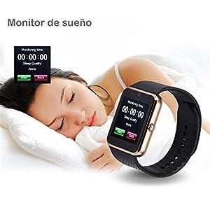 Willful Smartwatch, Reloj Inteligente Android con Ranura para Tarjeta SIM,Pulsera Actividad Inteligente para Deporte, Reloj Iinteligente Hombre Mujer niños, Reloj de Fitness con Podómetro Cronómetros