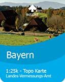 Satmap GPS System Karte 1:25000 & 1:50000 Deutschland: Bayern