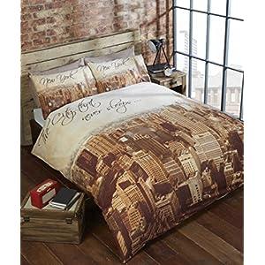New York Bettwäsche Baumwolle Deine Wohnideende