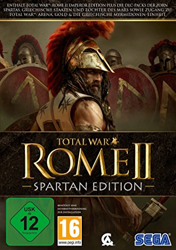 Total War: Rome 2 - Spartan Edition (PC) (Pc Games Total War)