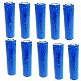 Rechargeable 18650 Li-Ion Batterie ICR18650 2200mAh 3.7V 5C Piles pour lampe torche