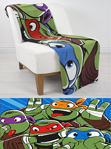 Extra Groß – Teenage Mutant Ninja Turtles Offizielle Fleece-Decke