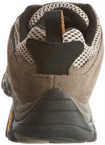 Merrell Moab Gore-Tex, Men's Lace-Up Trekking and Hiking Shoes – Brown (Walnut), 7 UK (40.5 EU)